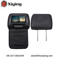 Quality Xiying 7 HD Digital TFT Screen Touch Panel Car Headrest DVD Players, cd player to back seat, car tv FOB Reference Price for sale