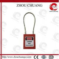 Quality G31 PA Body Stainless Wire Steel Cable Shackle xenoy Padlock for sale