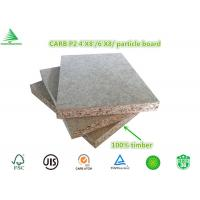 China hot sale export standard CARB P2 4'X8' particle board size