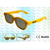 Quality 3D TV Children style Circular polarized 3D glasses CP297GTS01C for sale