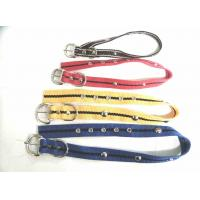 Quality Nylon dog  collar with bead for sale