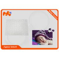 China Pre Printed Custom Photo Puzzle / White Pearl Personalized Photo Puzzle on sale
