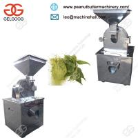 Quality Best Factory Price Industrial China Herb Grinder Machine for Sale for sale