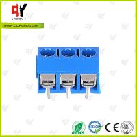Quality HQ306-5.0 Terminal Block PCB 2P - 3P Pole PA66 UL94V-0 Material for sale