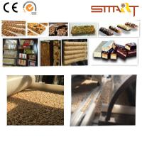 Quality Siemens Touch Screen Cereal Bar Forming Machine High - End Sesame Chikk Machine for sale
