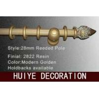 Buy cheap Modern Gold Reeded Pole (Curtain Rods / Curtain Tracks) from wholesalers