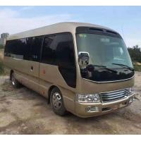 Quality 2011 Year 26 Seats Toyota Used Coaster Bus LHD / RHDJapan Origin Good Condition for sale
