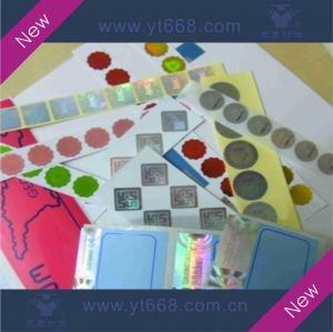 Quality Hologram sticker,laser label,rainbow sticker for sale