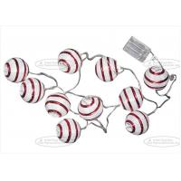 Quality 10 Pcs Paper String Lights , Paper Ball String Lights For Indoor Party Decoration for sale