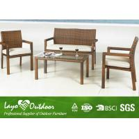 Buy cheap Deck Table And Chairs Beach Patio Furniture , Ashion Design Rattan Outdoor Garden Furniture from Wholesalers