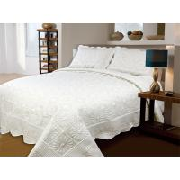 Quality Household Embroidery Quilt Bedding Sets , Wrinkle Resistant Stamped Embroidery Quilt Kits for sale