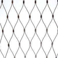 China Aviary Bird Parrot Fence Flexible 5mm Stainless Steel Zoo Mesh on sale