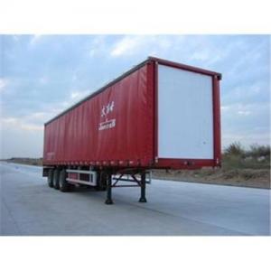 Quality 13M tri-axle curtain semi-trailer for sale