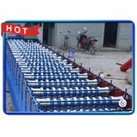 Quality Construction Building Material Sheet Metal Forming Equipment , Hard Chrome Coated Stud Forming Machine for sale