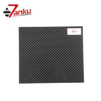 Quality Standard stock products,500*600mm 2mm Thickness 3K 100% Carbon Fiber Plate for sale