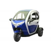 Quality 300kg Loading Capacity 60V Passenger Electric Tricycle for sale