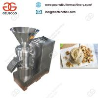 Quality Electric Small Fatty Walnut Grinder/ Sesame Peanut Almond Butter Making Machine for sale