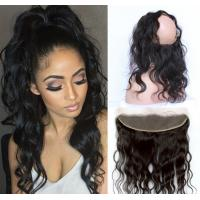 Quality 360 Lace Frontal Lace Top Closure Virgin Hair Body Wave Natural Hairline for sale