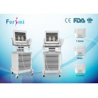 Quality HIFU wrinkle removal and skin tightening machine with 300W input power in best price for sale