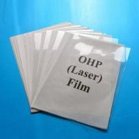 Quality OHP Transparent Films, Used for Lastering Printing, Made of PET for sale