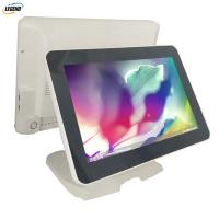 Buy cheap 400cd/㎡ Touch Dual Screen Pos Terminal System 1024 X 768 Pixels Epos All In One from wholesalers