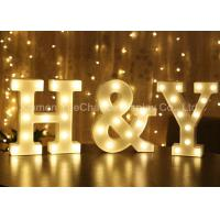 Quality Custom Color Decorative Metal Alphabet Letter with Light Metal Decorations Crafts for sale