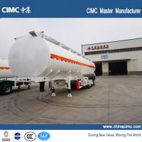 Quality 42000 liters fuel tanker trailer with tri-axles for sale