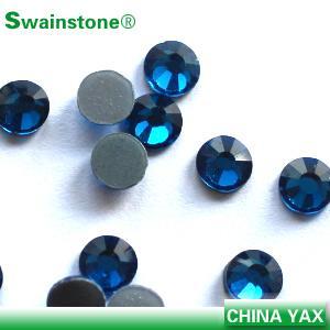 Quality T0811 Women Clothes Decoration blue zircon ss12 strass rhinestone,rhinestone strass,strass rhinestone wholesale for sale
