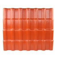 Quality Anti - corrosive Anti - Uv Synthetic Resin Roof Tile / Pvc Roofing Sheets for sale