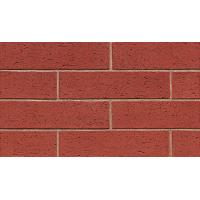 Quality Red Color Brick Flexible Ceramic Tile Various Stone Sand Materials 60x240 Mm Size for sale