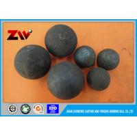 Buy cheap Good Wear Resistance Grinding Media Ball Mill Balls forged and cast balls from wholesalers
