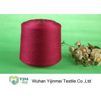 Quality High Tenacity Ring Spun Bright Virgin Dyed Polyester Yarn 100% Polyester Color Dyeing for sale