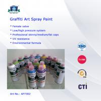 Quality Multi Colors 400ml Art Graffiti Spray Paint For Wall / House Decoration for sale