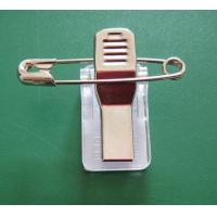 Quality Croco Clip with Safety Pin and Adhesive Pad for sale