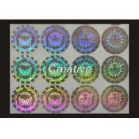 China Anti - Fake Laser Self Adhesive 3D Hologram Sticker For Passport Producers on sale