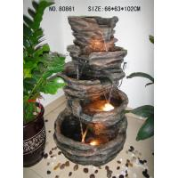 Quality Polyresin Fountain for Outdoor / Garden for sale