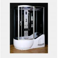 Quality Polished Frame Steam Shower Enclosure , Steam Shower Cubicle Single Door Sliding Style for sale