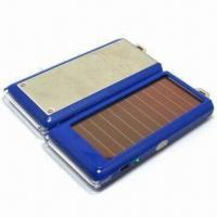 Quality Portable solar charger for mobile phone, MP3/MP4 players and digital camera, CE/FCC certified for sale