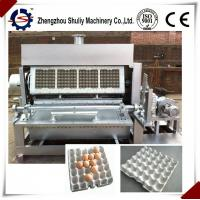 Quality hot sale automatic egg tray forming machine line with CE approved for sale for sale