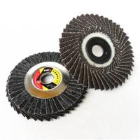 China 45-LEAF RADIAL CALCINED ALUMINUM OXIDE FLAP DISC SUPPLIER on sale