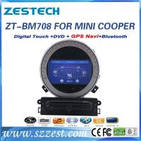 China ZESTECH car dvd gps navigation for BMW mini cooper car dvd gps navigation system with radio player on sale