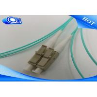 Quality LC / UPC Fiber Optic Pigtail 50 / 125 MM OM3 Simplex LC Fiber Optic Patch Cord for sale