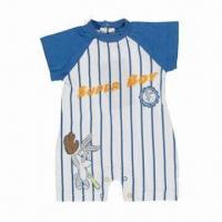 Quality Babies' Romper, Made of 100% Cotton Single Jersey, Available in Various Colors for sale