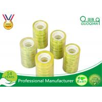 Quality Acrylic Glue Waterproof Transparent Colored Shipping Tape Printed Company Logo for sale