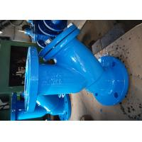 Quality High Efficiency Flanged Y Strainer / Natural Gas Y Strainer BS45040 for sale