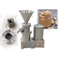 Quality CE / Iso SS304 Industrial Peanut Almond Butter Making Machine Small Scale for sale