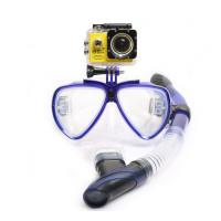 China Scuba Diving Snorkeling Mask Set with Adult Swim Goggles and Camera Mount on sale
