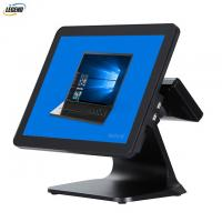 Quality 400 CD/㎡ 15 Inch Electronic POS Systems Intel Cerelon I5 CPU For Clothes Shop for sale