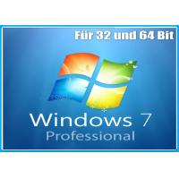 Quality Full version 32bit x 64bit professional Windows 7 Pro Retail Box for sale