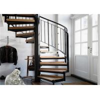... Buy Indoor Carbon Steel Spiral Staircase Wood Treads Low Maintenance  Cost At Wholesale Prices ...